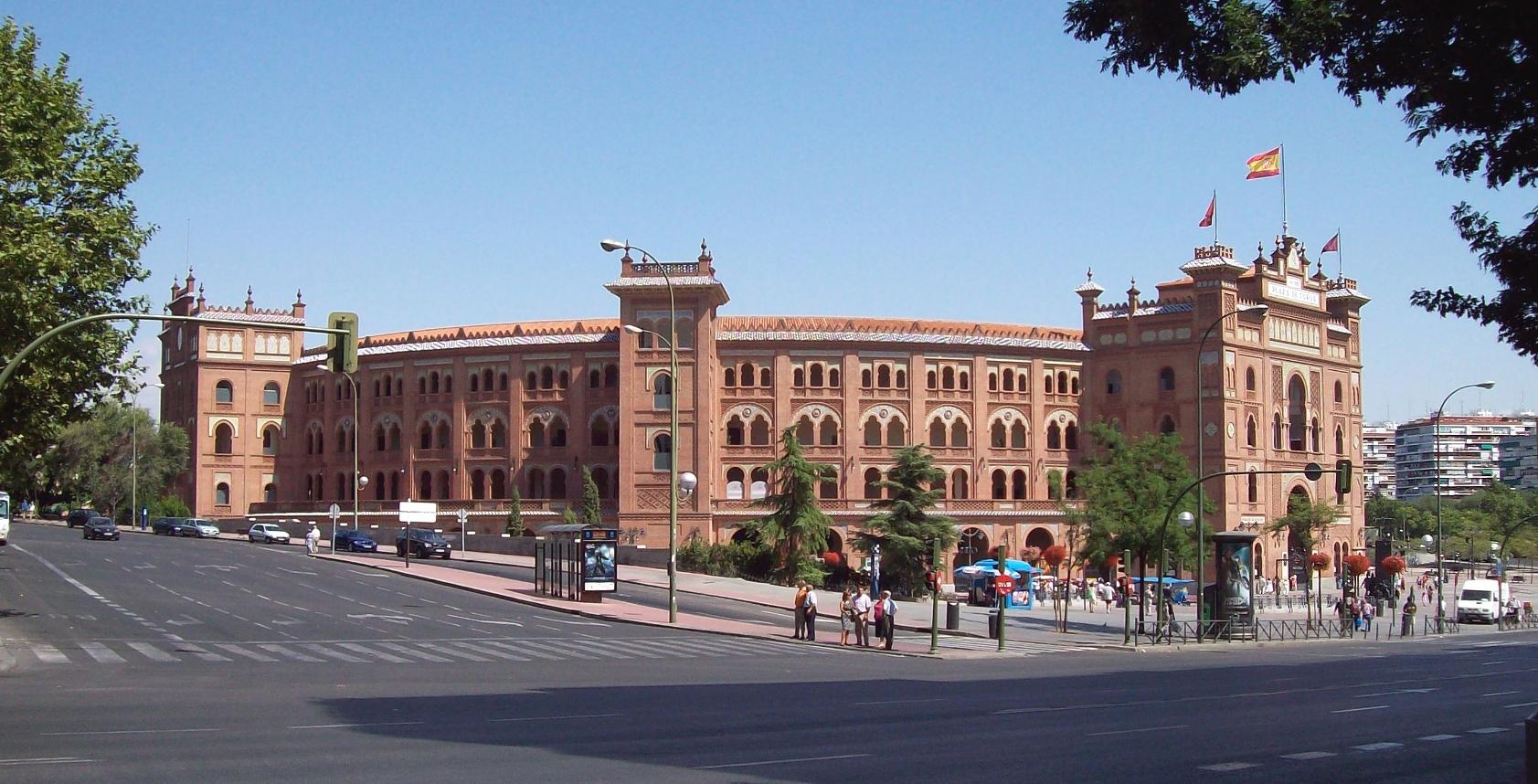 arènes de Madrid