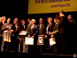 remise des prix madeleine 2012: