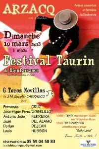 festival arzacq 2013