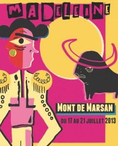 Affiche Fetes de la Madeleine 2013
