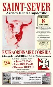 Affiche corrida collectif pedrollen