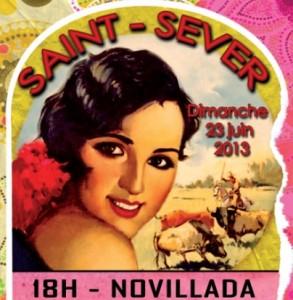 saint sever - affiche