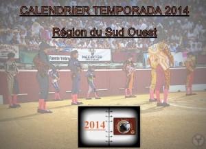 calendrier-temporada 2014