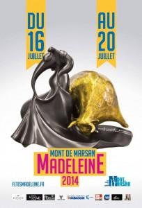 Madeleine 2014 - affiche Toutain