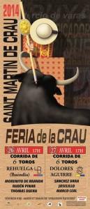 saint martin de crau - affiche 2014