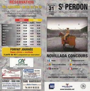 Saint-perdon-tarif 2014