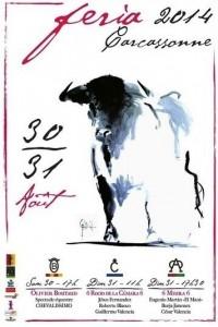 carcassonne-affiche féria2014