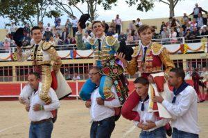 Saint Gilles-novillada concours-Salenc