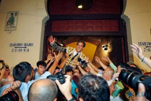 Madrid-Gines Marin-puerta grande