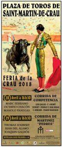 Feria de la Crau-affiche2018
