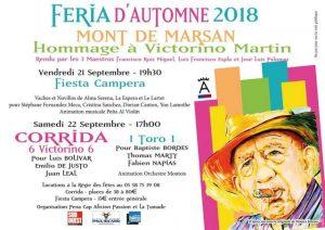 Mont de Marsan-féria-automne2018