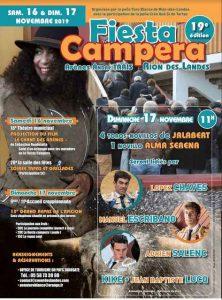 Rion des Landes-affiche-fiesta campera2019