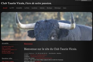 club taurin vicois-site internet