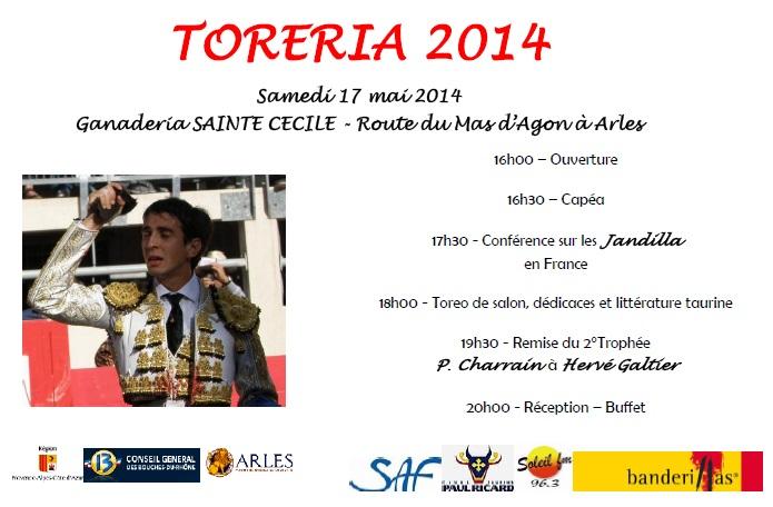 Affiche Toreria 2014