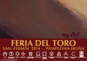 Pamplona-affiche2014-cartel