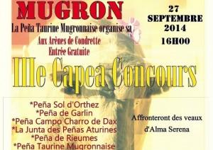 mugron-capea inter penas 2014