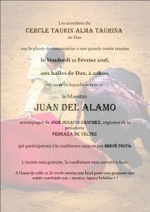 Dax-Alma taurina-Juan del Alamo