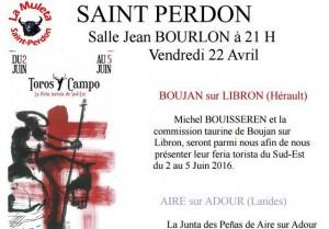Saint Perdon-soirée-Boujan-Aire