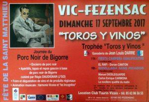 Vic Fezensac-TorosyVinos-2017