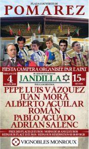 Pomarez-fiesta Campera-affiche2018
