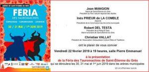 Saint Etienne-présentation2019