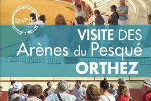 Orthez-visite-arènes
