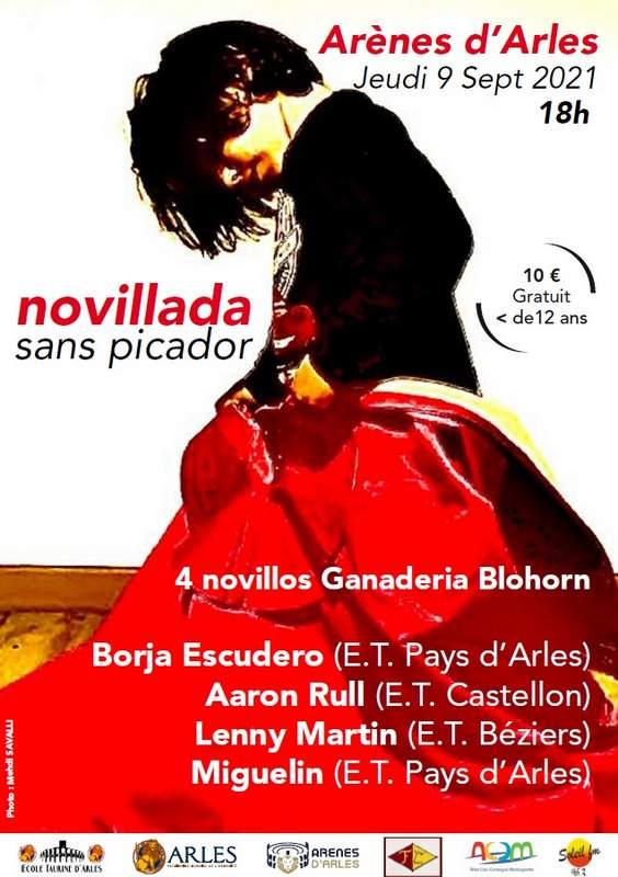 Arles-école-novillada2021