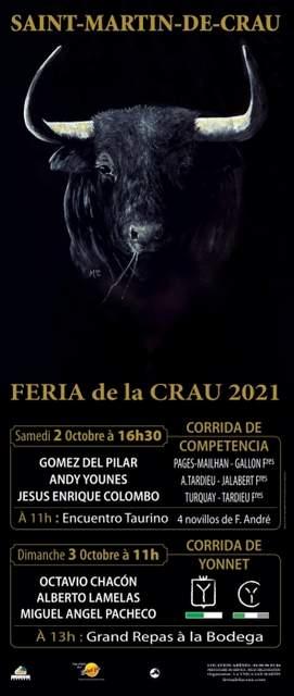 Saint Martin de Crau-affiche2021